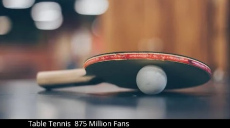 Table Tennis 875 Million