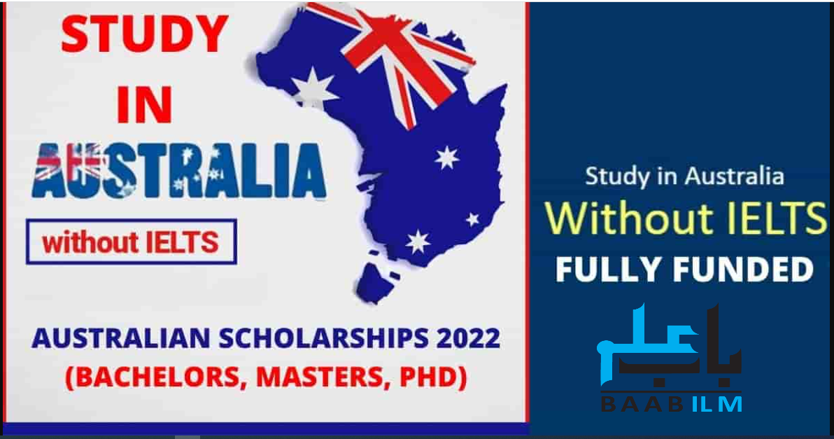 Australia Scholarships Without IELTS 2021-2022