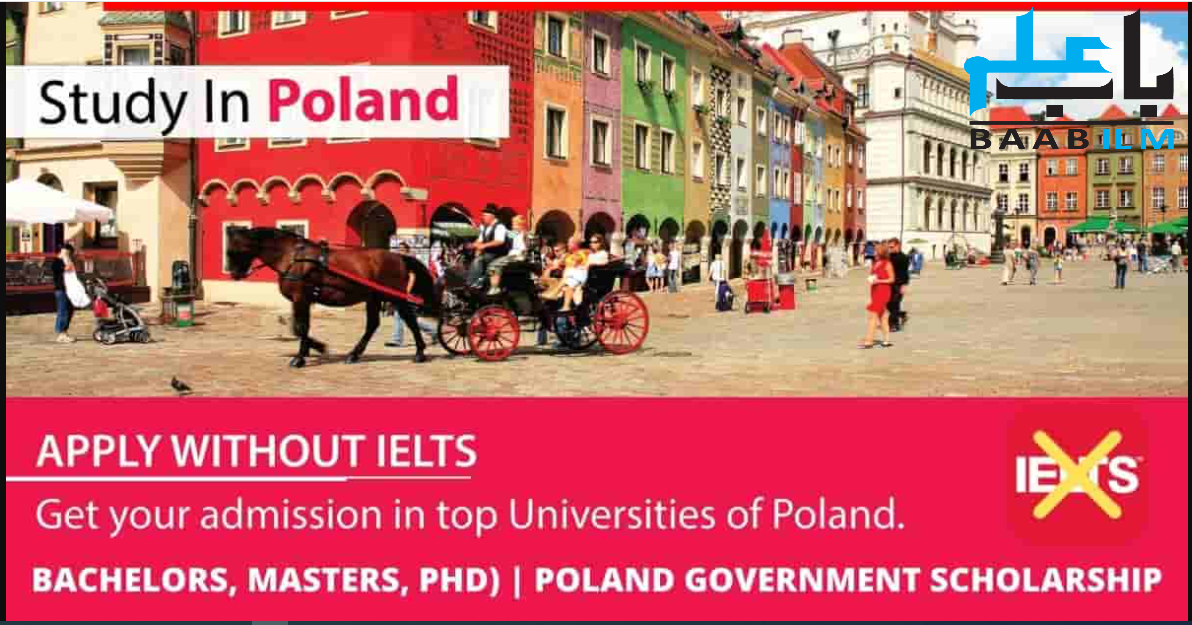 Poland Scholarships Without IELTS 2021